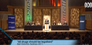 link to drug debate video