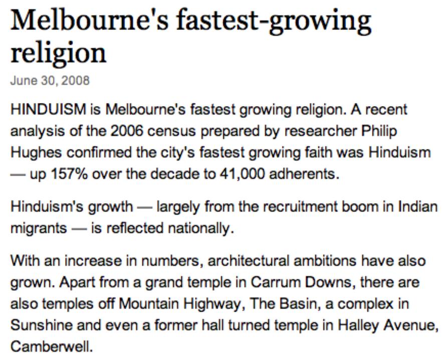 Hinduism_Melbourne