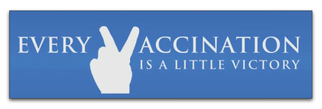 Every vaccination is a little victory