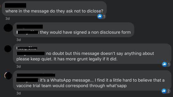 AVN FB members question source